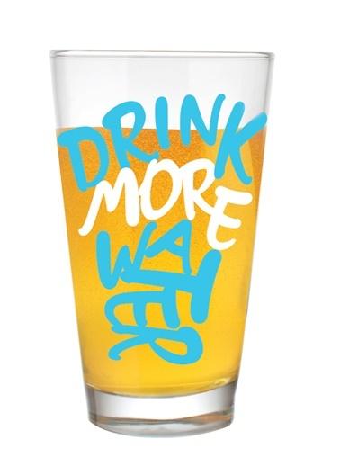 Drınk More Water Tasarım Bardak-Rakle